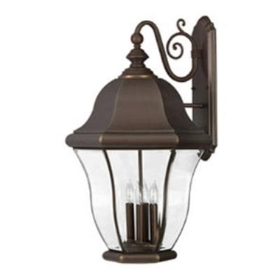 Hinkley Lighting 2336CB Monticello Brass Outdoor Lantern Fixture