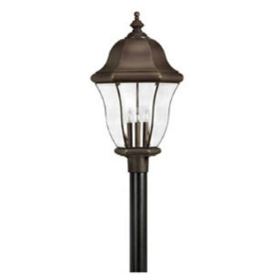Hinkley Lighting 2337CB Monticello Brass Outdoor Lantern Fixture