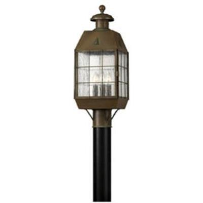 Hinkley Lighting 2371AS Nantucket Brass Outdoor Lantern Fixture