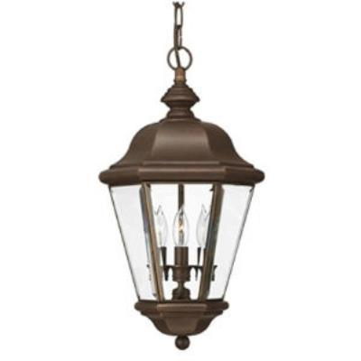 Hinkley Lighting 2422CB Clifton Park Brass Outdoor Lantern Fixture