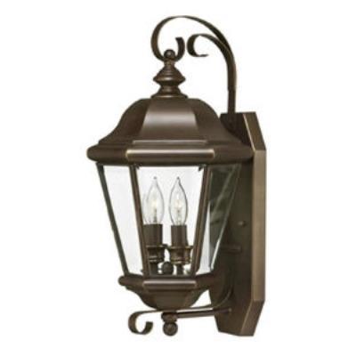 Hinkley Lighting 2425CB Clifton Park Brass Outdoor Lantern Fixture