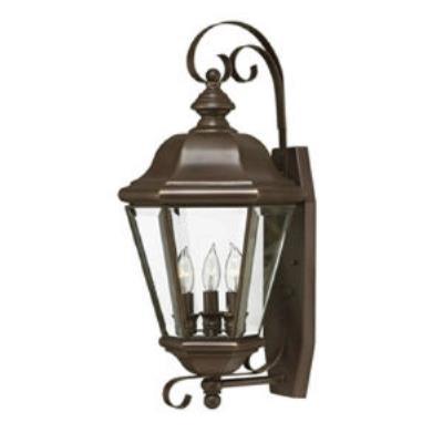 Hinkley Lighting 2426CB Clifton Park Brass Outdoor Lantern Fixture
