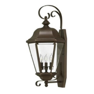 Hinkley Lighting 2428CB Clifton Park Brass Outdoor Lantern Fixture