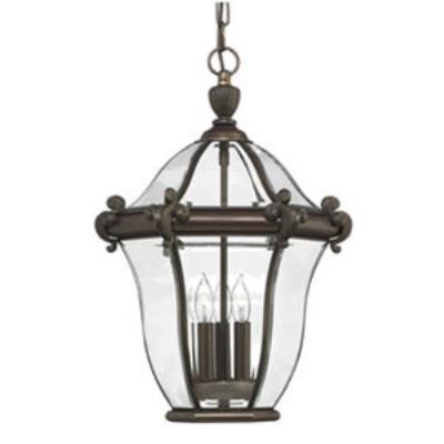 Hinkley Lighting 2442CB San Clemente Brass Outdoor Lantern Fixture
