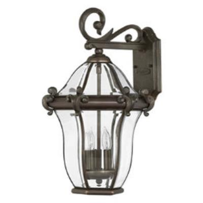 Hinkley Lighting 2444CB San Clemente Brass Outdoor Lantern Fixture