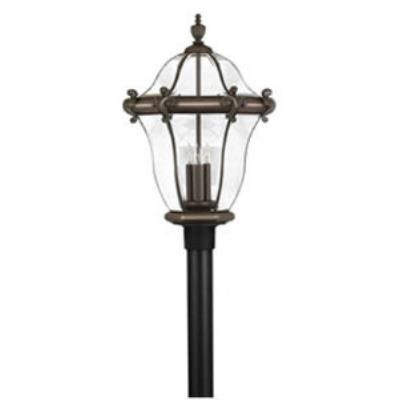 Hinkley Lighting 2447CB San Clemente Brass Outdoor Lantern Fixture