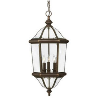 Hinkley Lighting 2452CB Augusta Brass Outdoor Lantern Fixture