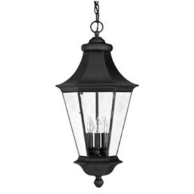 Hinkley Lighting 2502BK Senator Brass Outdoor Lantern Fixture