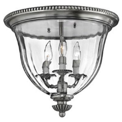Hinkley Lighting 3612PW Cambridge Flush Mount