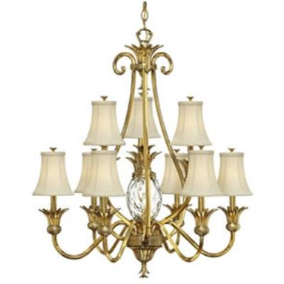 Hinkley Lighting 4887BB Plantation Chandelier