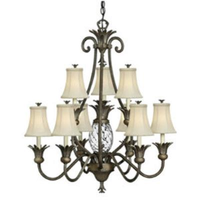 Hinkley Lighting 4887PZ Plantation Chandelier