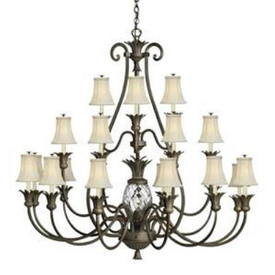 Hinkley Lighting 4889PZ Plantation Chandelier