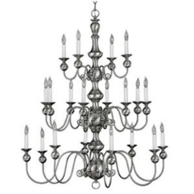 Hinkley Lighting 5127PW Virginian Chandelier