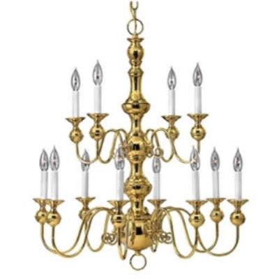Hinkley Lighting 5129PB Virginian Chandelier