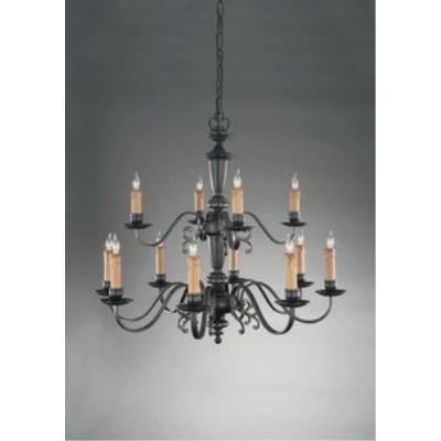 Holtkotter Lighting 2742 Flemish - Twelve Light Chandelier