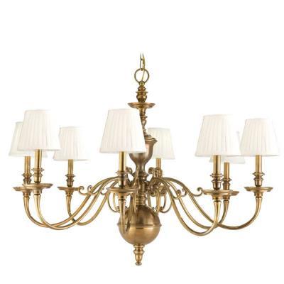 Hudson Valley Lighting 1748 Charleston - Eight Light Chandelier