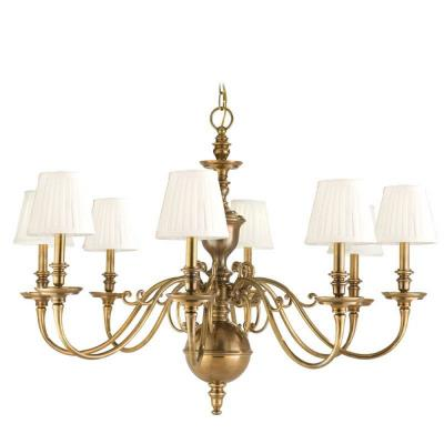 Hudson Valley Lighting 1748 Charleston - Eight Light Chandelier