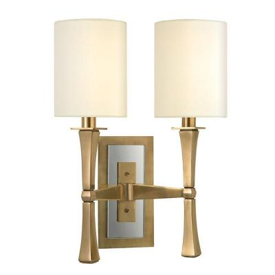 Hudson Valley Lighting 2112-AGB York - Two Light Wall Sconce