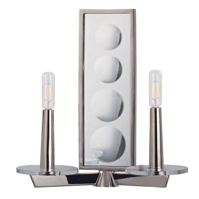 Hudson Valley Lighting 312-PN Ashley - Two Light Wall Sconce