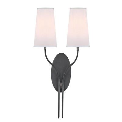 Hudson Valley Lighting 3712-OB-WS Rutland - Two Light Wall Sconce