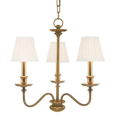 Hudson Valley Lighting 4033 Menlo Park Collection - Three Light Chandelier