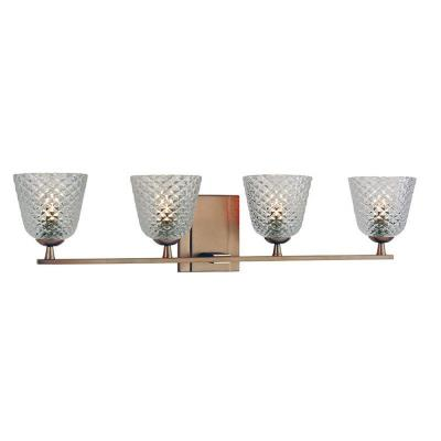 Hudson Valley Lighting 4064-BB Grafton - Four Light Bath Bar