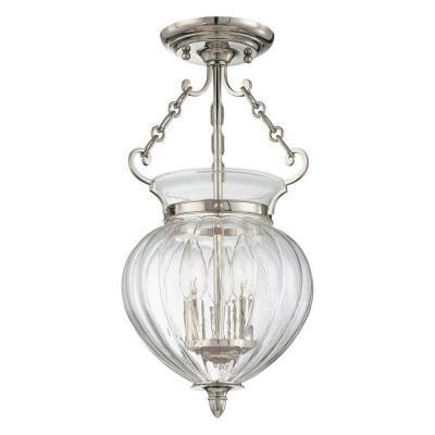 Hudson Valley Lighting 780 Gardner Collection - Three Light Semi Flush Mount