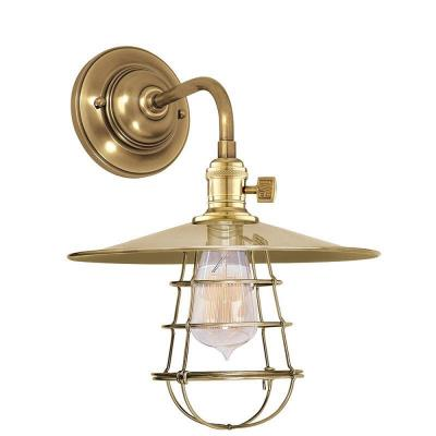 Hudson Valley Lighting 8000-WG Heirloom - One Light Wall Sconce with Wire Guard