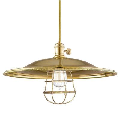 Hudson Valley Lighting 8001-WG Heirloom - One Light Pendant with Wire Guard