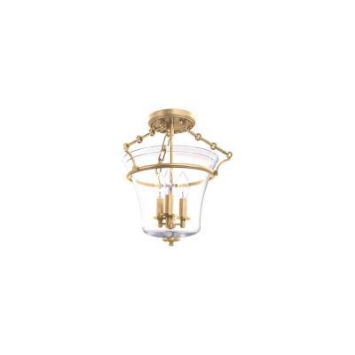 Hudson Valley Lighting 830 Eaton - Three Light Semi-Flush Mount