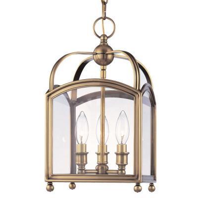 Hudson Valley Lighting 8409 Millbrook - Three Light Pendant