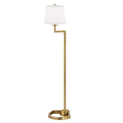 Hudson Valley Lighting L337-AGB-WS Higgins - One Light Floor Lamp