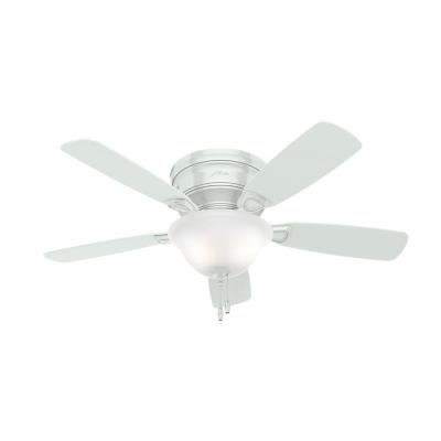 "Hunter Fans 52062 Low Profile - 48"" Ceiling Fan with Light Kit"