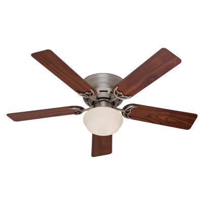 Hunter Fans 53074 Low Profile III Plus - 52 Inch Ceiling Fan