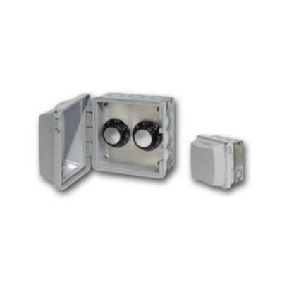 Infratech 14 4115 Accessory - 120 Volt Dual Reg With Flush Mount & Gang Box