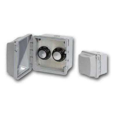 Infratech 14 4125 Accessory - 120 Volt Dual Reg Surface Mount & Gang Box