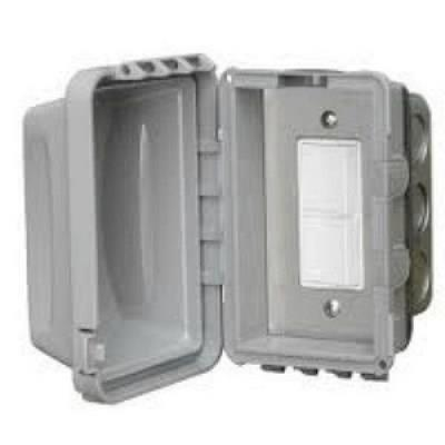 Infratech 14 4310 Accessory - Single Duplex Switch Flush Mount & Gang Box 20 Amp Per Pole