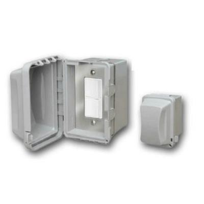 Infratech 14 4320 Accessory - Single Duplex Switch Surface Mount & Gang Box 20 Amp Per Pole