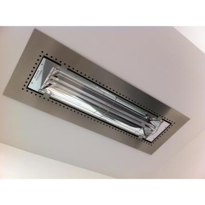 "Infratech 18 2300 Accessory - W20 Flush Mount Plaster Frame 39"" Units"