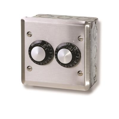 Infratech 14 4105 Accessory - 120 Volt Dual Reg With Wall Plate & Gang Box