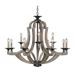 Winton - Twelve Light Chandelier