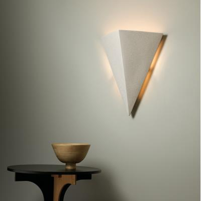 Justice Design 1140 Really Big Triangle Sconce