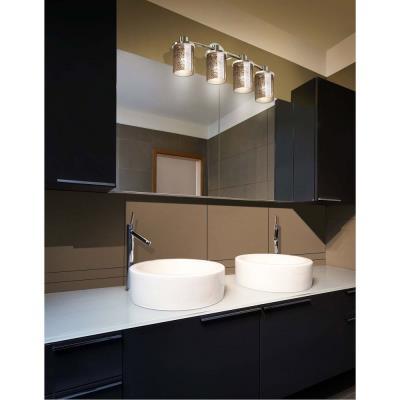 Justice Design FSN-8514 Rondo 4-Light Bath Bar