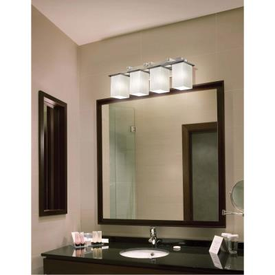 Justice Design FSN-8674 Montana 4-Light Bath Bar