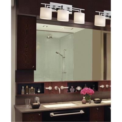 "Justice Design FSN-8703 Fusion - 26"" Three Light Bath Bar"