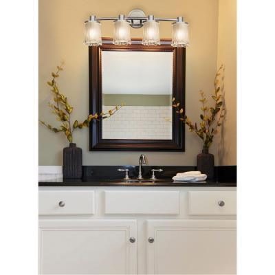 Justice Design GLA-8514 Rondo - Four Light Bath Bar