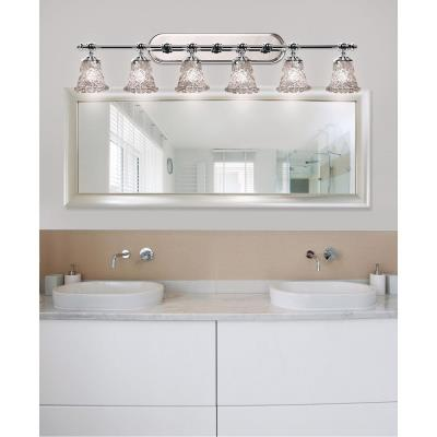 Justice Design GLA-8526 Tradition Six Light Bath Bar