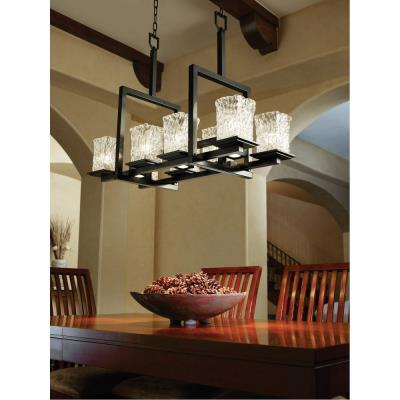 Justice Design GLA-8618 Montana - Eleven Light Chandelier