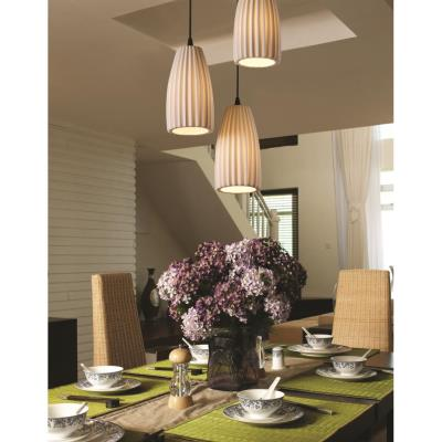 Justice Design POR-8864 3-Light Cluster Small Pendant