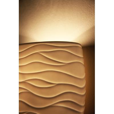 Justice Design PNA-9611 Porcelina - Three Light Semi-Flush Mount with U-Clip